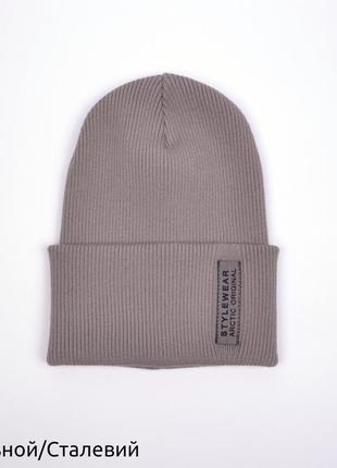 Шикарная шапка для подростков / взрослых р. 54-57 🍂
