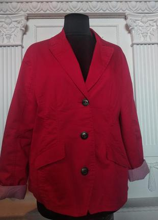 Пиджак жакет большого размера xxl