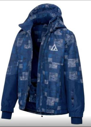 Лыжная детская подростковая  куртка crivit