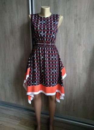 Maje яркое стильное платье