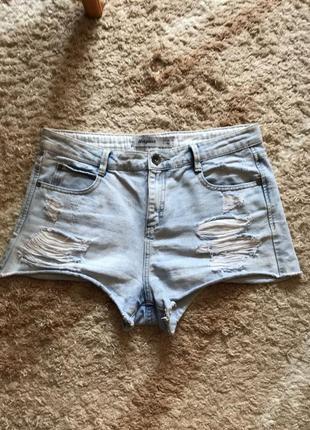 Джинсовые шорты юбка брюки джинсы бриджи