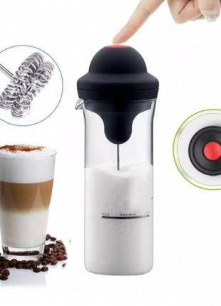 Портативный миксер для сливок и молока milk frother стакан для молочных коктейлей
