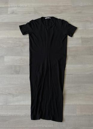 Платье acne studios чёрное
