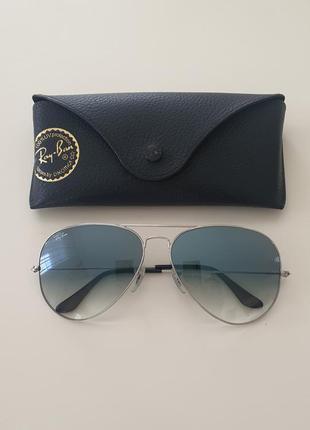 Солнечные очки ray ban 3025 модель авиатор