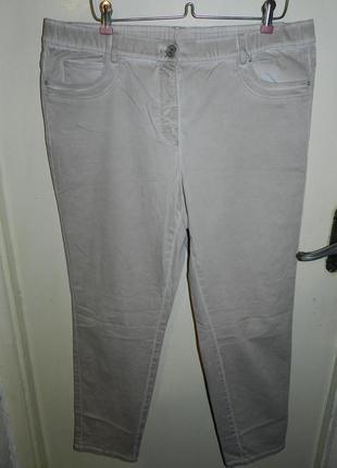 Стрейч брюки gerry weber, большой размер, немецкий бренд samoon + акция!
