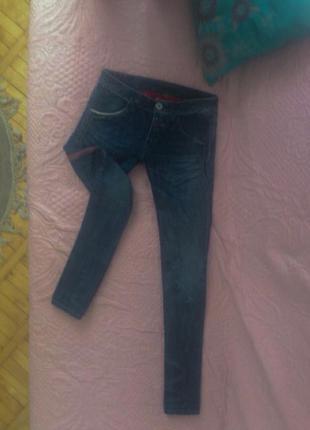 Итальянские джинсы в стиле versace