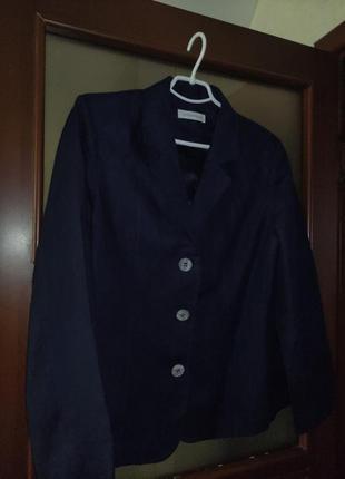 Пиджак лён женский