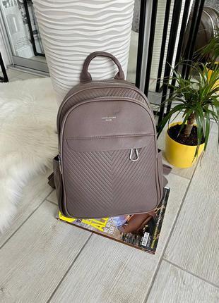 🤘  рюкзак david maxi на 2 отдела формaт a4 хаки