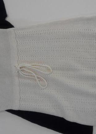 Вязаное платье/туника на шнурке madonna