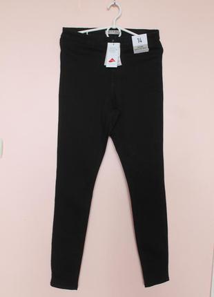 Чёрные джинсы скинни, джинси, брюки, штаны, лосины 46-48 р.