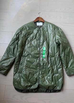 Стеганое пальто/куртка stardivarius