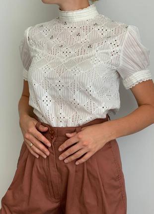 Вышитая рубашка премиум бренда sessún вишита сорочка блуза з вишивкою