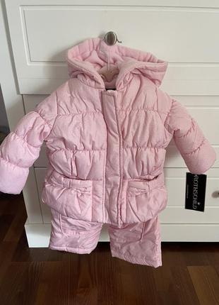 Новый зимний костюм rothschild на девочку 1-2 года