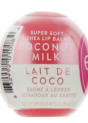 Бальзам для губ eos кокосовое молочко с маслом ши
