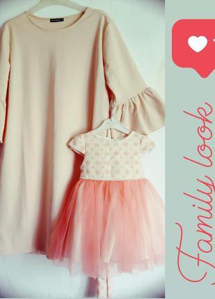 Платья мама дочка фэмилилук