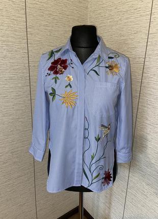 Стильна блуза- вишиванка zara