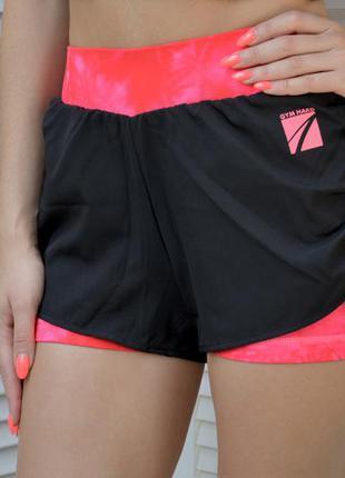 Двойные шорты для спорта sinsay
