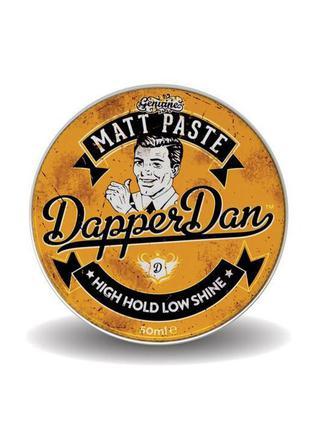 Матовая паста для стайлинга dapper dan matt paste 50 мл
