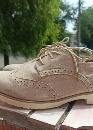 Комфортные туфли оксфорды sprox 41-42
