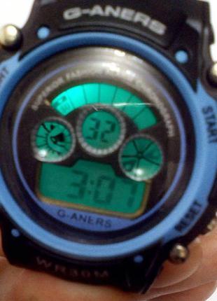 Детские наручные  спортивные часы g-aners