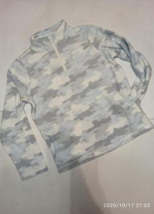 Флисовая кофта флиска свитер для девочки мальчика унисекс