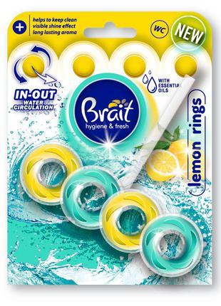 Блок для туалету brait lemon rings 40гр