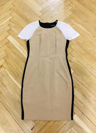Трендовое нежное платье некст next акция 1 1=3 платьице беж