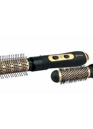 Фен-щетка для волос с ионизатором