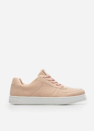 Кеды кроссовки женские пудровые 39 40 кросівки кеди