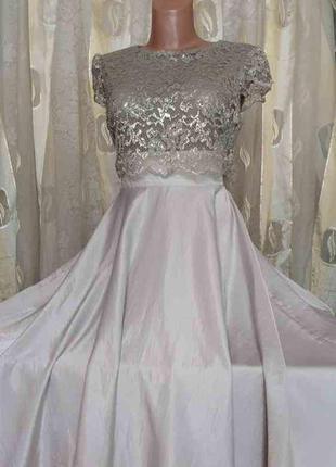 Красивое вечернее платье sisters point размер s