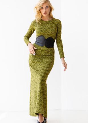 Довга сукня / плаття русалочка