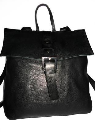 Кожаный рюкзак, натуральная кожа