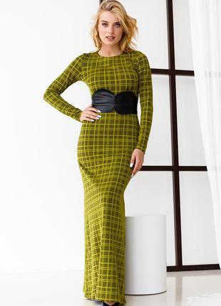 Довге плаття / сукня русалочка завужена до низу