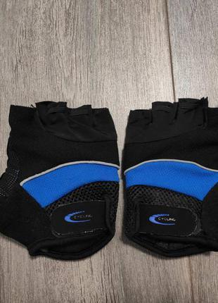 Мужские беспалые вело перчатки crivit sports размер 9 м-l оригинал