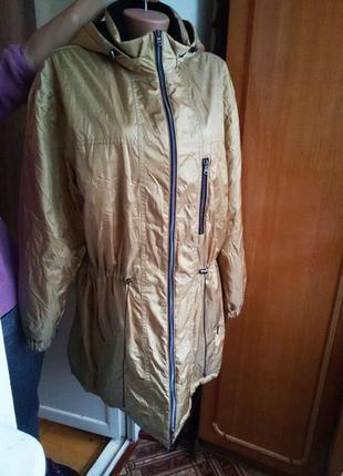 Качественная  мембранная куртка парка гортекс /gore-tex