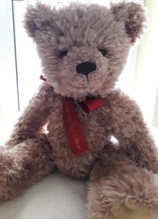 Плюшевый медведь англия! оригинал!