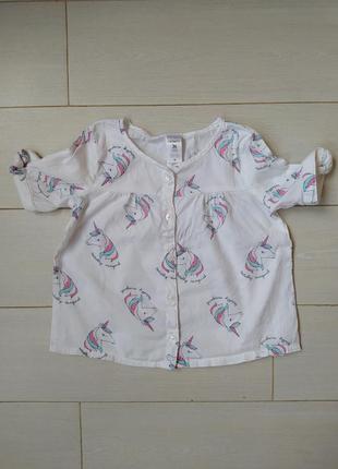 Рубашка carters блузка carter's блуза