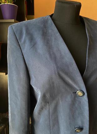 Пиджак винтаж свободного кроя