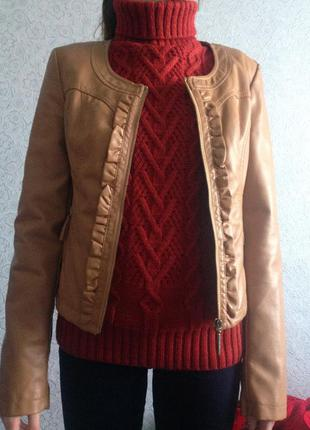 Куртка эко-кожа tally weijl
