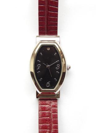 Avon часы из сша с камнем кожаный ремешок механизм japan miyota