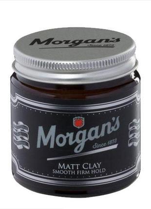 Глина для стилизации волос morgan's matt clay 120 мл