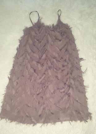 Платье травка