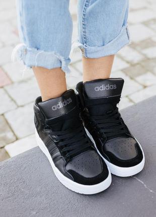 Женские кроссовки adidas attitude black