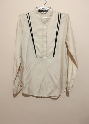 Пудровая блуза zara woman