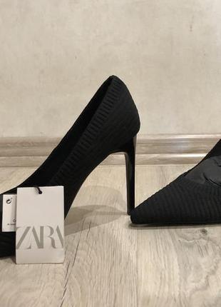 Тканевые туфли zara