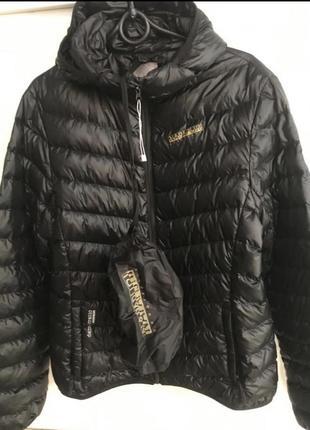 Куртка пуховик демісезонна
