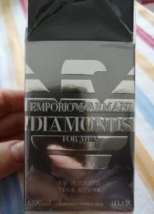 Emporio armani diamond for men 30 мл.