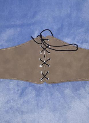 Фірмовий  пояс корсет, шнуровка-утяжка
