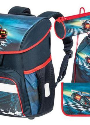 Качественный школьный ранец с ортопедической спинкой рюкзак