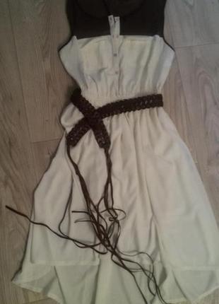 Нежное платье новое